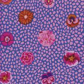 Kaffe Fassett GP59 Guinea Flowers Pink Cotton Fabric By The Yard