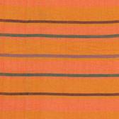 Kaffe Fassett Alternating Stripe Orange Woven Cotton Fabric By The Yard