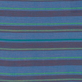 Kaffe Fassett Alternating Stripe Blue Woven Cotton Fabric By The Yard