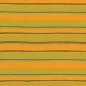 Kaffe Fassett Alternating Stripe Yellow Woven Cotton Fabric By The Yard