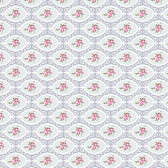 Tanya Whelan PWTW146 Charlotte Cherry Blossoms Gray Cotton Quilting Fabric By Yd