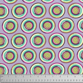Tula Pink PWTP081 Chipper The Hypnotizer Raspberry Cotton Fabric By Yard