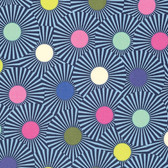 Tula Pink PWTP088 Slow & Steady Clear Skies Blue Raspberry Cotton Fabric By Yard