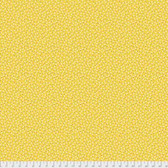 Denyse Schmidt PWDS151 Ludlow Belly Button Dot Yellow Cotton Fabric By Yd
