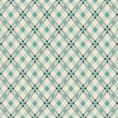 Denyse Schmidt PWDS140 Washington Depot Open Plaid Teal Cotton Fabric By Yd