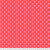 Tula Pink PWTP118 All Stars Pom Poms Poppy Cotton Fabric By Yard