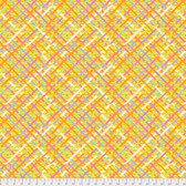 Brandon Mably PWBM037 Mad Plaid Gold Quilting Cotton Fabric By The Yard