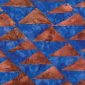 Kaffe Fassett BKKF003 Artisan Batik Flags Brown Cotton Fabric By The Yard