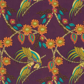 Kathy Doughty Flock Together Ring Around Medallion Contemporary Fabric By Yd