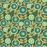 Joel Dewberry Florabelle PWJD150 Artisan Floral Taos Cotton Fabric By Yd