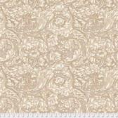 Morris & Co. Kelmscott PWWM003 Bachelors Button Tan Cotton Fabric By Yd