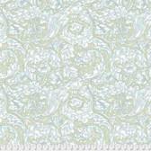 Morris & Co. Kelmscott PWWM003 Bachelors Button Aqua Cotton Fabric By Yd