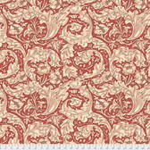 Morris & Co. Kelmscott PWWM003 Bachelors Button Red Cotton Fabric By Yd