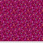 Odile Bailloeul PWOB007 Broderie Boheme Garden Of Delights Passion Fabric By Yd