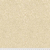 Morris & Co. Kelmscott PWWM004 Lily Leaf Tan Cotton Fabric By Yd