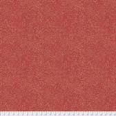 Morris & Co. Kelmscott PWWM008 Seaweed Dot Red Cotton Fabric By Yd