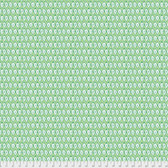 Corinne Haig PWCH002 Artichoke Garden Ikat Green Cotton Fabric By Yd