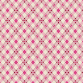 Denyse Schmidt PWDS140 Washington Depot Open Plaid Wild Rose Cotton Fabric By Yd