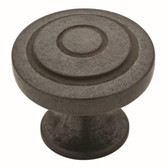 "Liberty P29526-SI 1 1/4"" Soft Iron Geary Cabinet Drawer Knob"