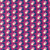 Heather Bailey Hello Love PWHB080 Pop Star Violet Cotton Fabric By The Yard