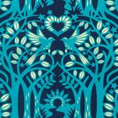 Heather Bailey Hello Love PWHB075 Norwegian Midnight Cotton Fabric By The Yard