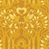 Heather Bailey Hello Love PWHB075 Norwegian Gold Cotton Fabric By The Yard