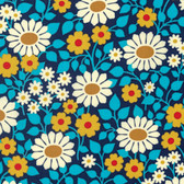 Heather Bailey Hello Love PWHB078 Fields Forever Midnight Cotton Fabric By Yard