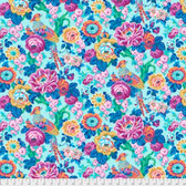 Snow Leopard Roaring 20's PWSL060 Floral Bough Swing Cotton Fabric By Yard