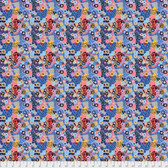 Snow Leopard Roaring 20's PWSL064 Jazz Deco Cotton Fabric By Yard