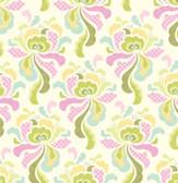 Heather Bailey FAHB001 Fresh Cut Flannel Groovy Olive Flannel Fabric By Yd