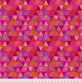 Odile Bailloeul PWOB004 Broderie Boheme Labyrinth Autumn Fabric By Yd