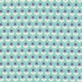 Joel Dewberry VOJD014 Modernist Tulip March Aqua Cotton VOILE Fabric By Yard