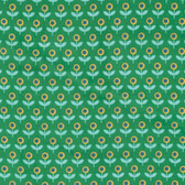 Joel Dewberry VOJD014 Modernist Tulip March Emerald Cotton VOILE Fabric By Yard