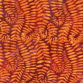 Kaffe Fassett BKKF002 Artisan Batik Fronds Grape Cotton Fabric By The Yard
