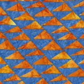 Kaffe Fassett BKKF003 Artisan Batik Flags Blue Cotton Fabric By The Yard