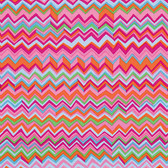Brandon Mably PWBM043 Zig Zag Pink Quilting Cotton Fabric By The Yard