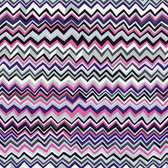 Brandon Mably PWBM043 Zig Zag White Quilting Cotton Fabric By The Yard