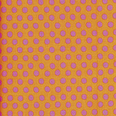 Kaffe Fassett GP70 Spot Peach Cotton Quilting Fabric By Yard