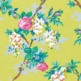 Jennifer Paganelli PWJP124 Sunny Isle Garen Mustard Cotton Fabric By Yard