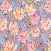 Dena Designs Marquesas PWDF260 Rosette Aqua Cotton Fabric By Yard