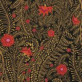 Kaffe Fassett PWGP147 Ferns Black Cotton Fabric By The Yard