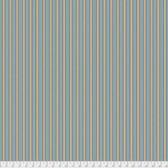 Morris & Co. Kelmscott PWWM007 Gilt Stripe Blue Cotton Fabric By Yd