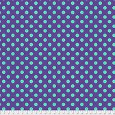 Tula Pink PWTP118 All Stars Pom Poms Iris Cotton Fabric By Yard