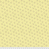 Laura Heine The Dress PWLH006 Blossom Yellow Cotton Fabric By Yd