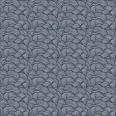 Shannon Newlin Floral Waterfall PWSN008 Tiny Wave Blue Cotton Fabric By Yd