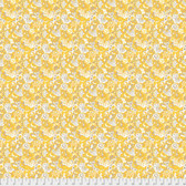 Margot Elena Stories & Songbirds PWME007 C'est Si Bon Canary Fabric By Yd