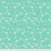 Tina Givens PWTG192 Piecemeal Morning Walk Aqua Cotton Fabric By Yd