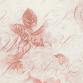 "Tim Holtz QBTH002 Rose Parcel Red 108"" Wide Quilt Backing Fabric By Yd"