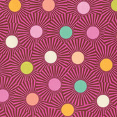 Tula Pink PWTP088 Slow & Steady Clear Skies Orange Crush Cotton Fabric By Yard