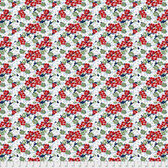 Coats PWCC009 Daisy Daze Gerbera Blue Cotton Quilting Fabric By Yd